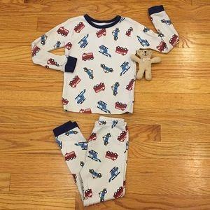 Carter's Emergency Vehicle Thermal Pajamas Boys 4T